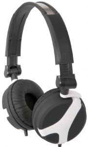 QTX Sound QX40W Stereo Headphones (White and Black)